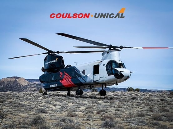 Coulson Unical Ch-47 Helitanker